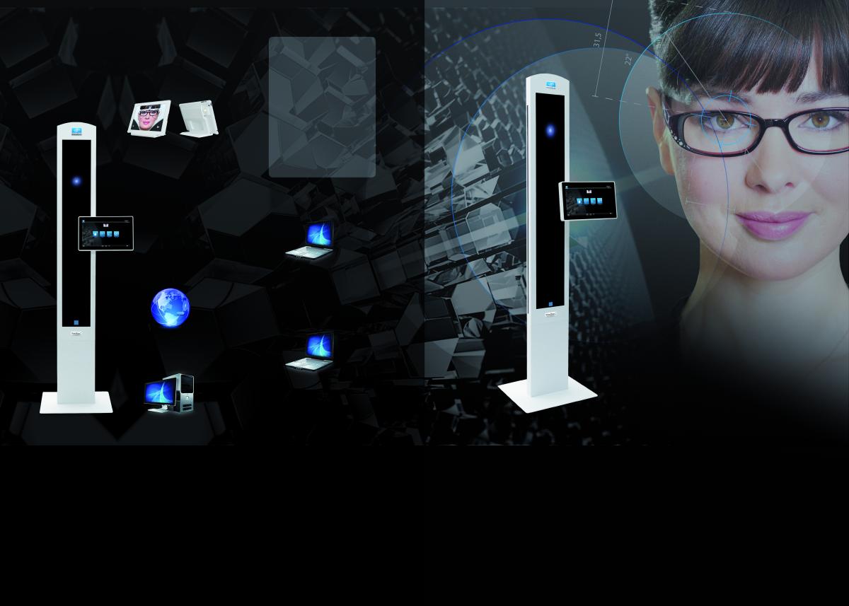 Visiooffice 2 von der Firma Essilor ermöglicht eine individuelle Brillenglas - Berechnung und Zentrierung auf höchstem Niveau